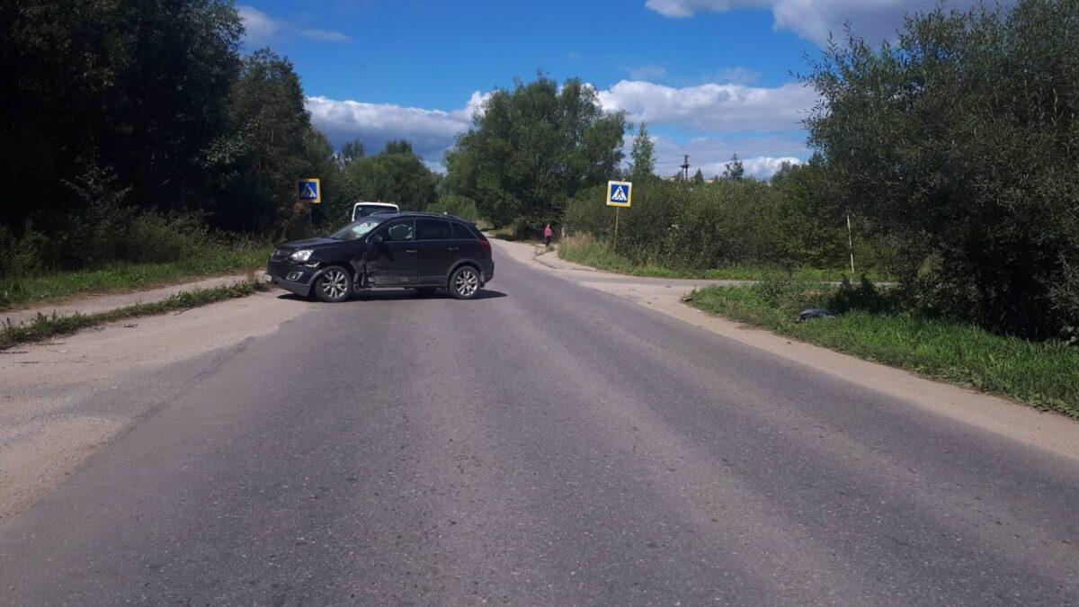Опубликованы фотографии с места ДТП с пострадавшим 6-летним мальчиком в Тверской области