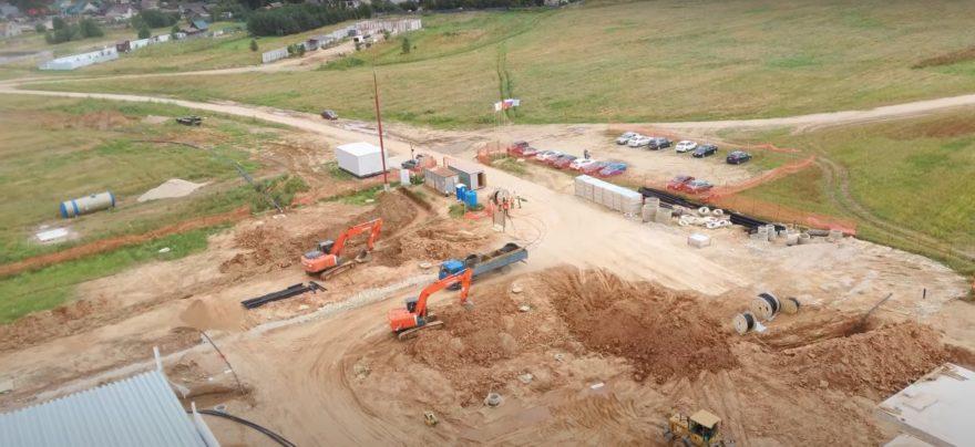 Склады для автозапчастей за 1,2 миллиарда строят под Тверью