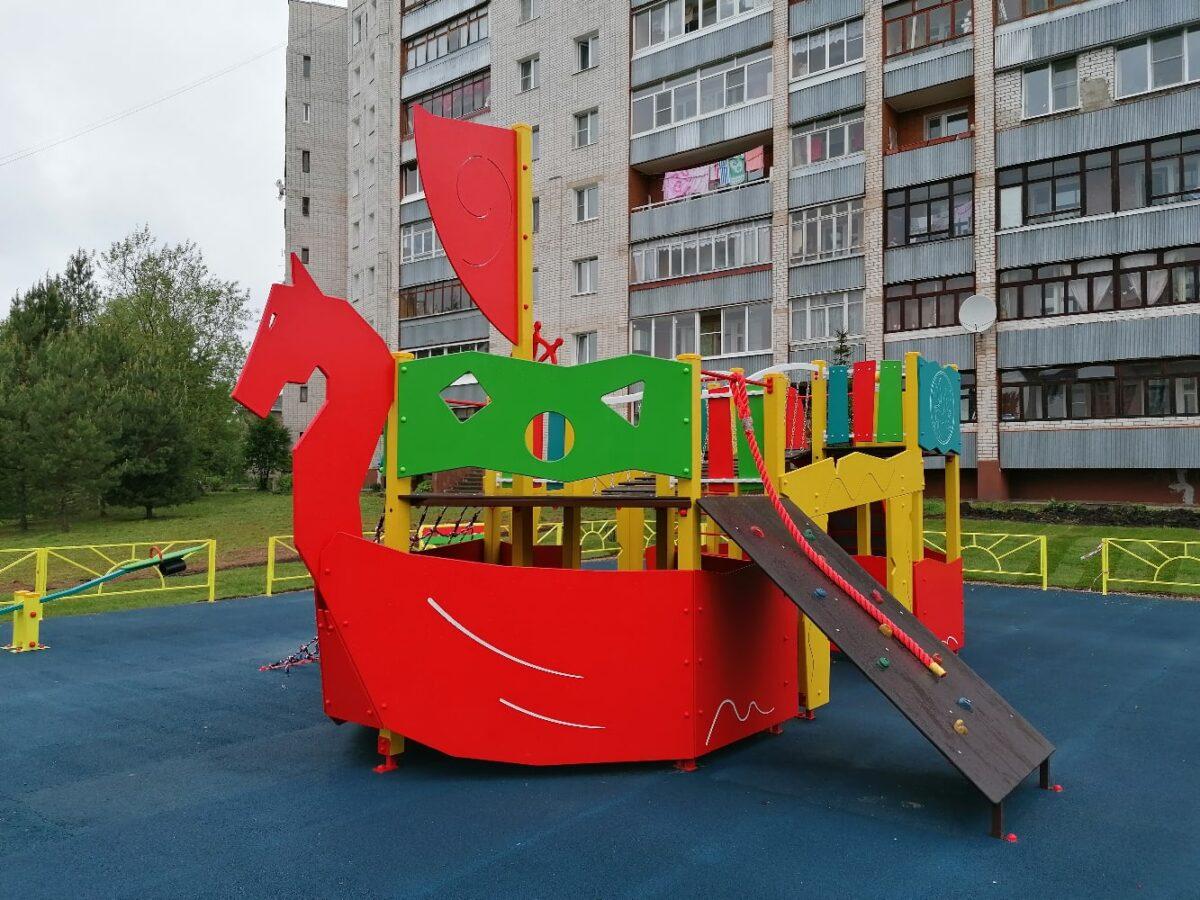 Больше 50 тысяч квадратных метров дворов отремонтировали в Ржеве