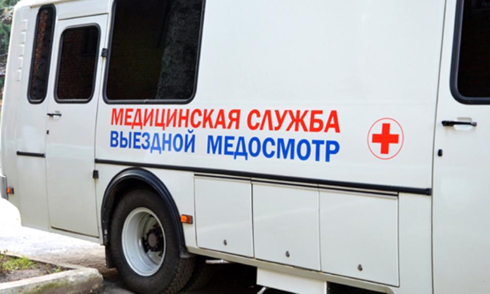 С 25 августа мобильные медицинские бригады посетят четыре района области