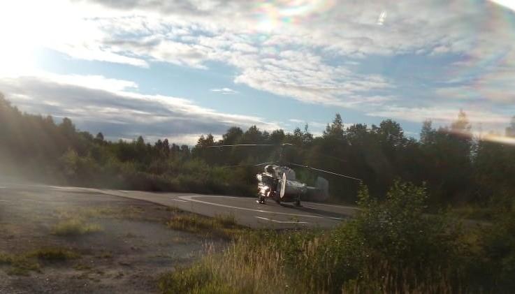 Мужчину из районной больницы доставили по воздуху в Тверь