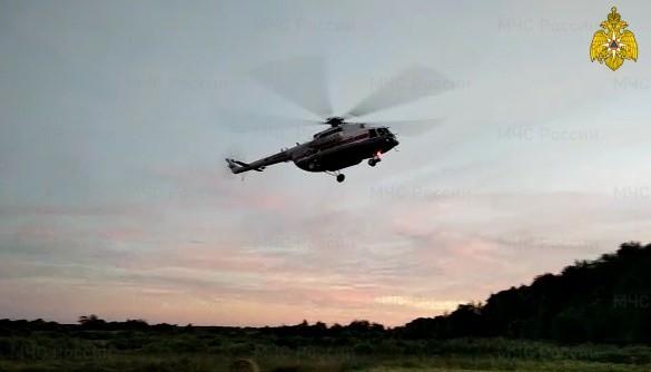 Маленького ребёнка доставили в Тверь на вертолёте санавиации