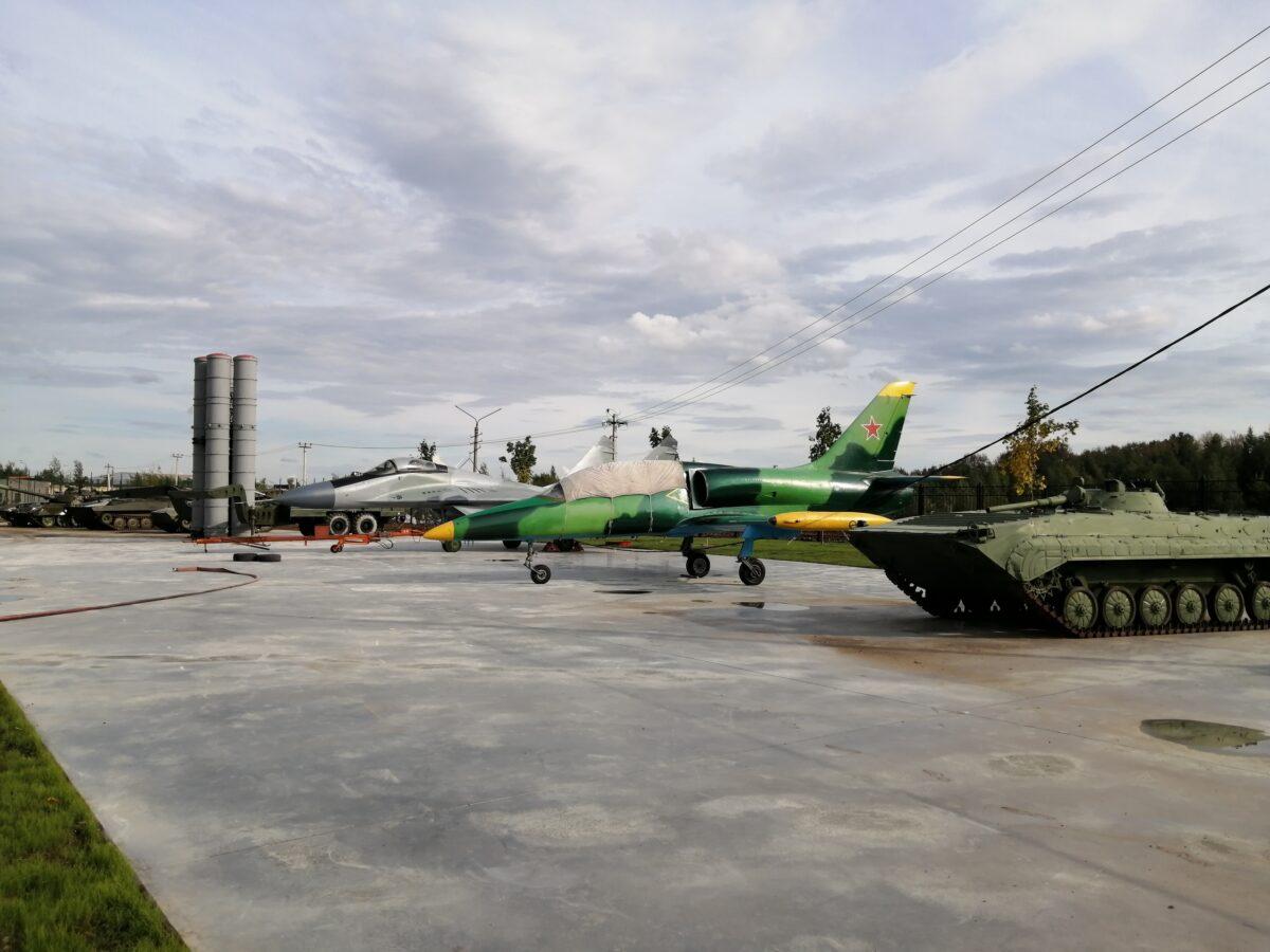 В Твери развернули новый музей боевого вооружения