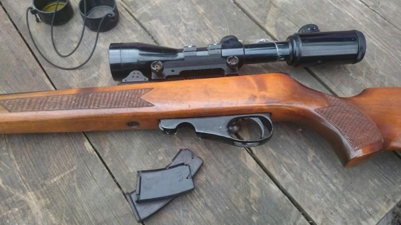 Житель Тверской области 20 лет незаконно хранил под лестницей оружие