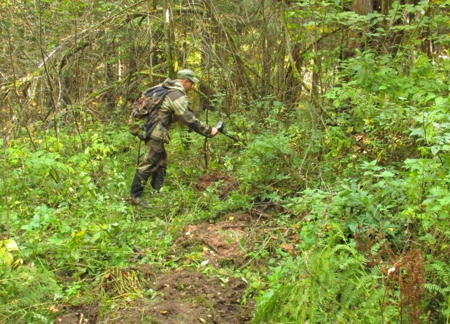 В Тверской области поисковики нашли следы тылового подразделения