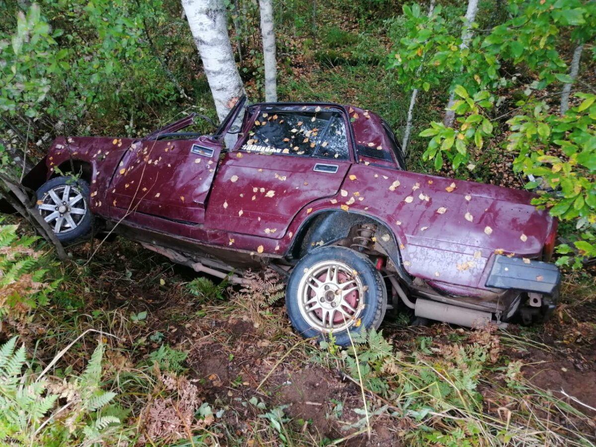 Молодой водитель врезался в дерево в Тверской области