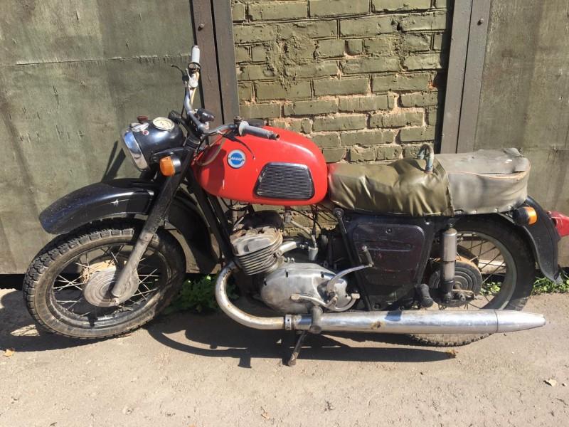 В Тверской области парень отремонтировал угнанный у петербуржца мотоцикл