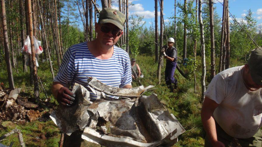 Летчики сожгли в Тверской области самолет, чтобы он не достался фашистам