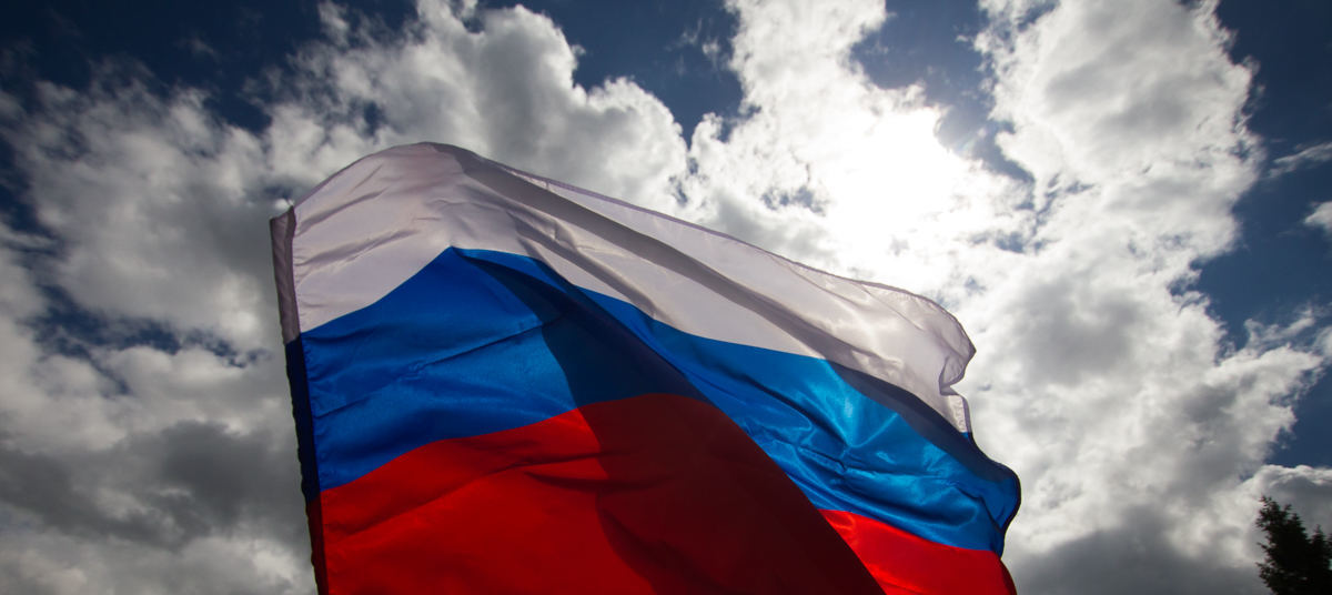 Двое пьяных мужчин с ружьем украли в Тверской области триколор
