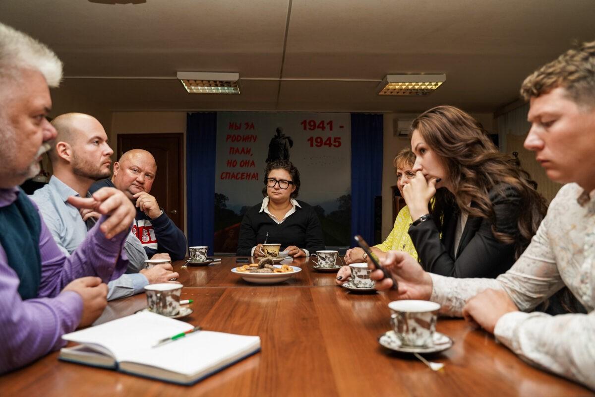 Журналисты и общественники Ржева обсудили избирательную кампанию