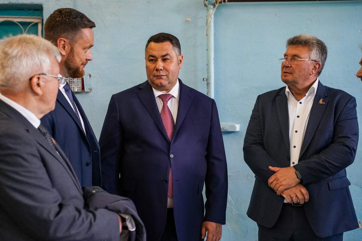 Губернатор Игорь Руденя: регион поможет Ржеву