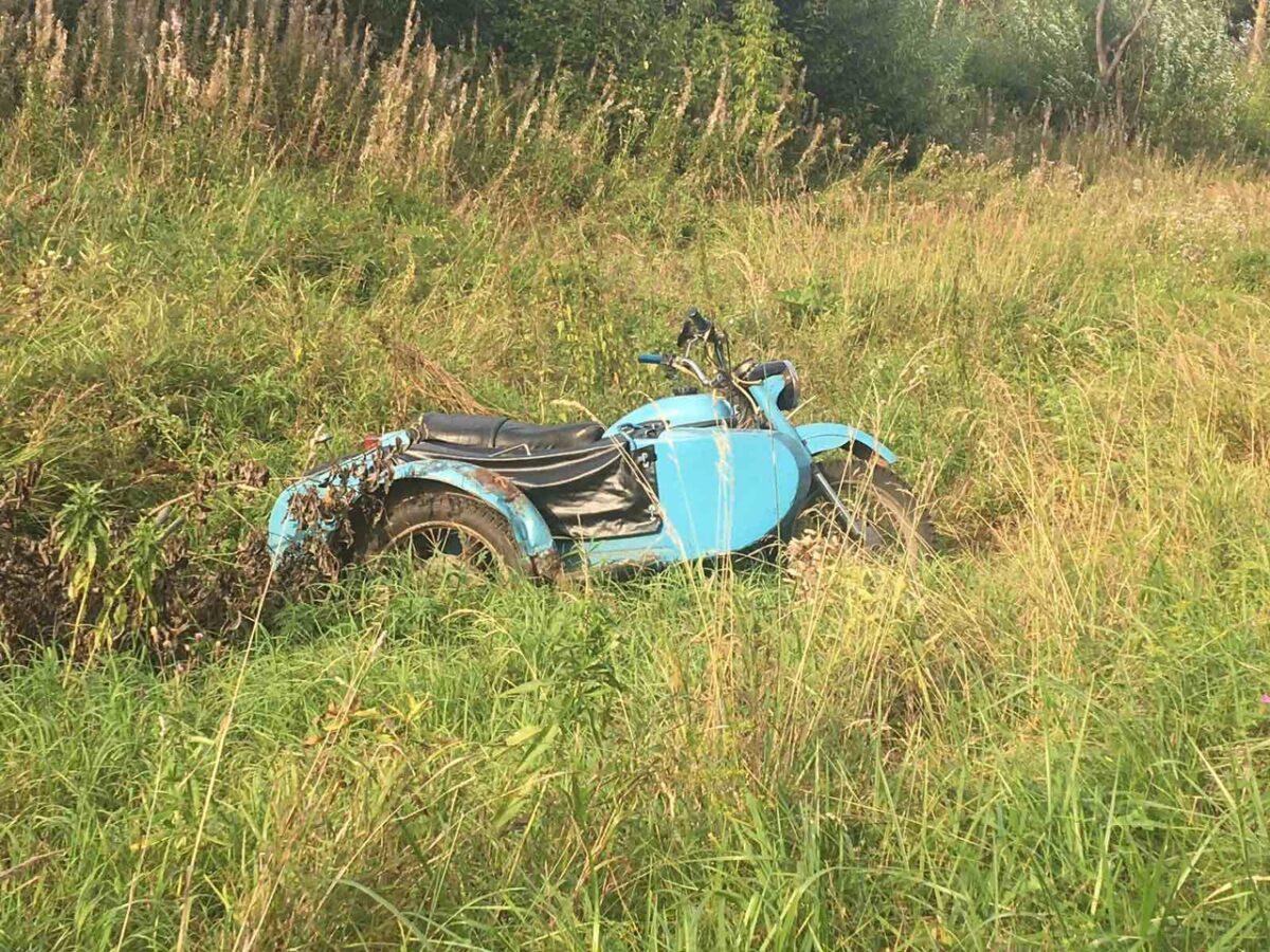Пьяный мотоциклист, которого остановили под Тверью, всё отрицал