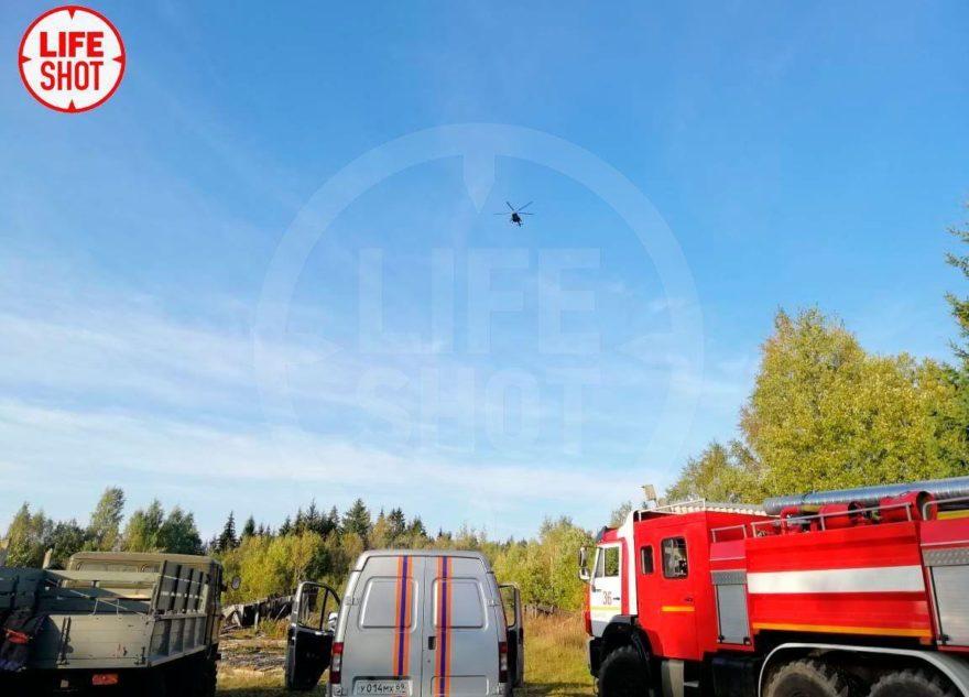 Пилоты упавшего Су-30 увели самолёт подальше от жилых районов Тверской области