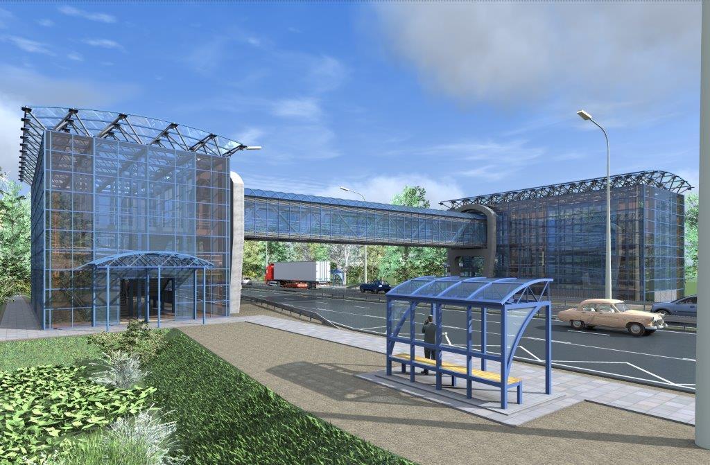 Два надземных пешеходных перехода построят на трассе М-10 в Тверской области