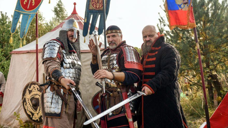 В Тверской области Новый год отметили битвой рыцарей