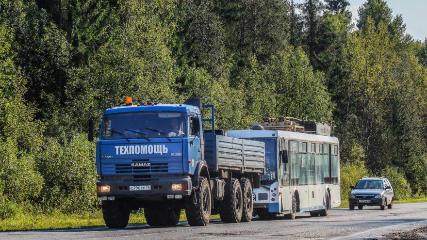Тверские троллейбусы теперь будут возить жителей Ярославля