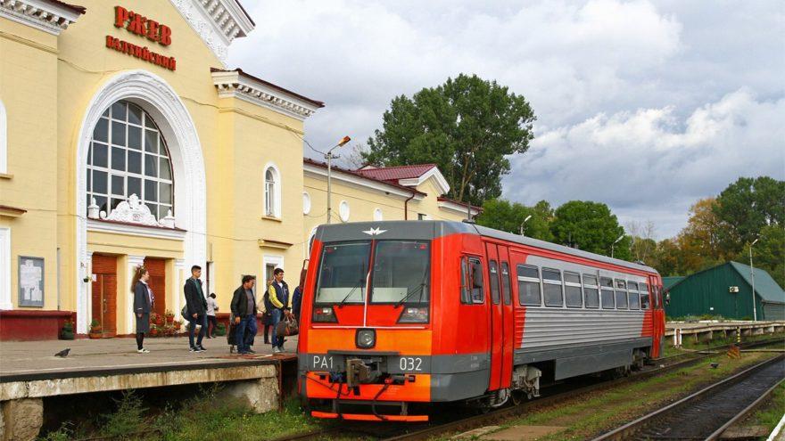 В октябре в Тверской области отменят ряд электричек