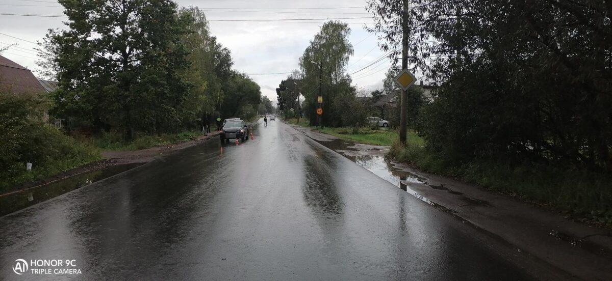 В Твери молодой водитель сбил молодого пешехода