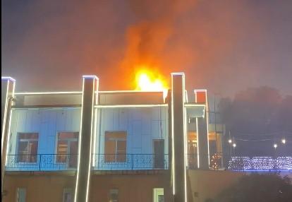Пожар в тверском ресторане «Парус» потушили сами работники
