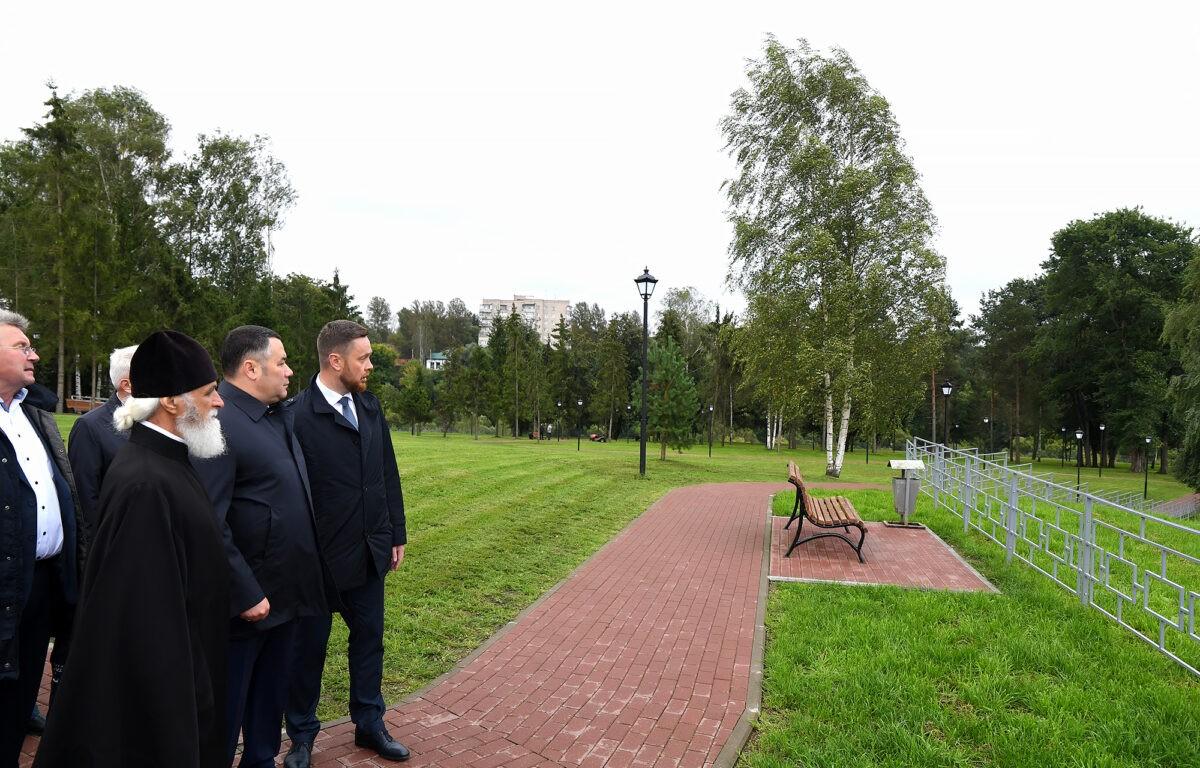 Игорь Руденя в Ржеве почтил память освободителей города от немецко-фашистских захватчиков