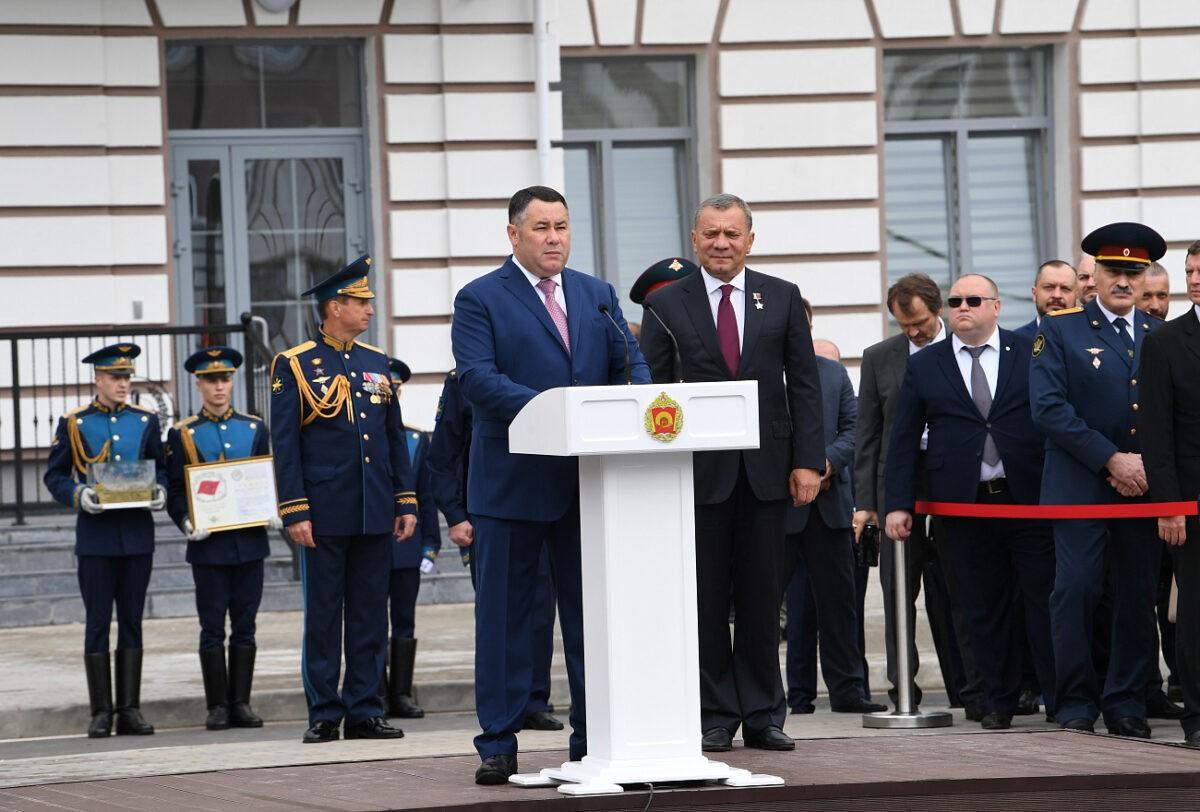 1 сентября в Твери открыли новый комплекс суворовского училища