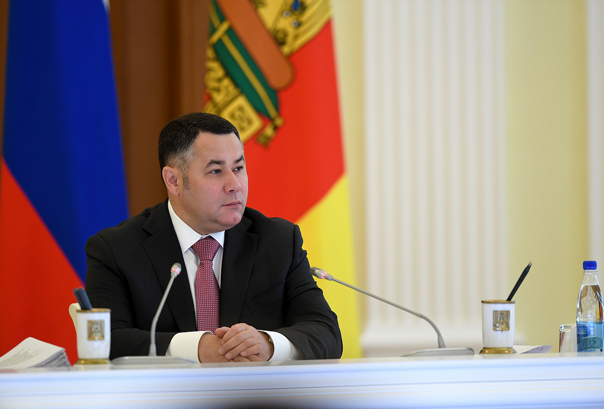 Игорь Руденя: для сохранения молодёжи в Тверской области требуется развитие инфраструктуры