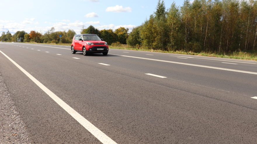 В Тверской области завершили второй этап ремонта дороги, связывающей нас с Вологодчиной