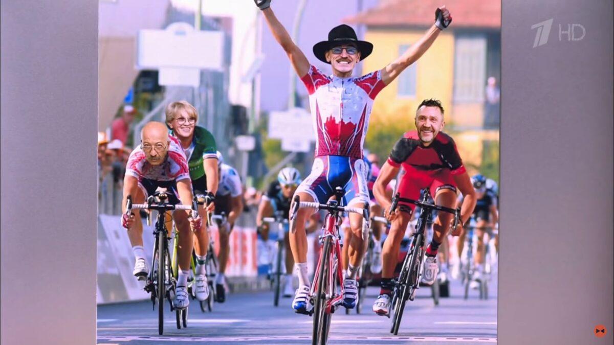 Иван Ургант в прямом эфире сказал, что надо ехать в Тверь на велосипеде