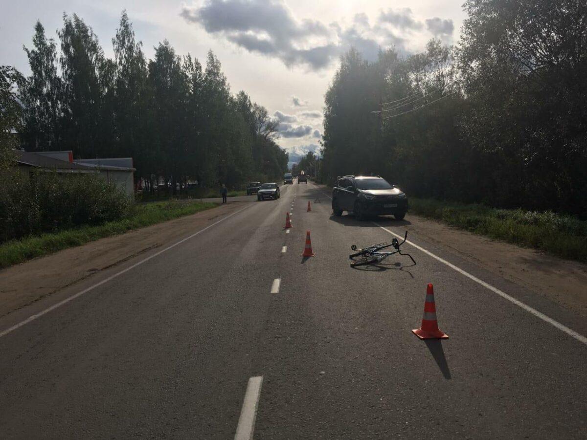 В Тверской области «Тойота» сбила 9-летнего мальчика на велосипеде