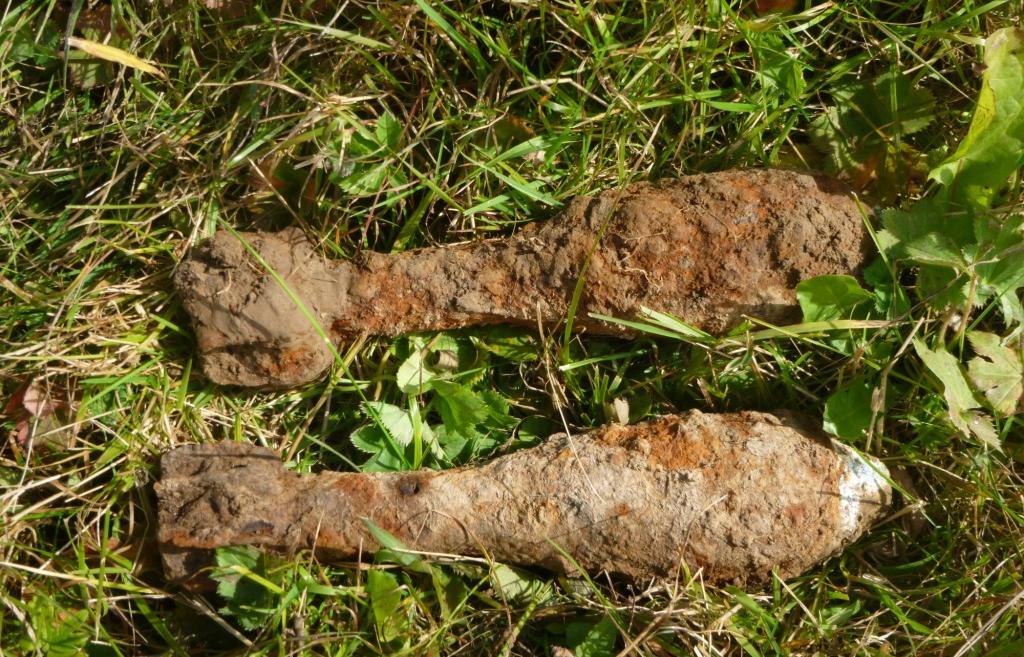 В Тверской области нашли снаряд и две мины Великой Отечественной