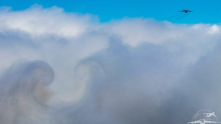 В Твери опубликованы фото самолётов с обгоревшими тепловыми ловушками