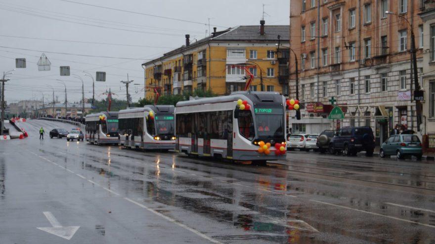 Для запуска трамваев в Твери положат новые рельсы