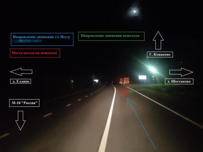 Японский грузовик насмерть сбил пешехода в Тверской области
