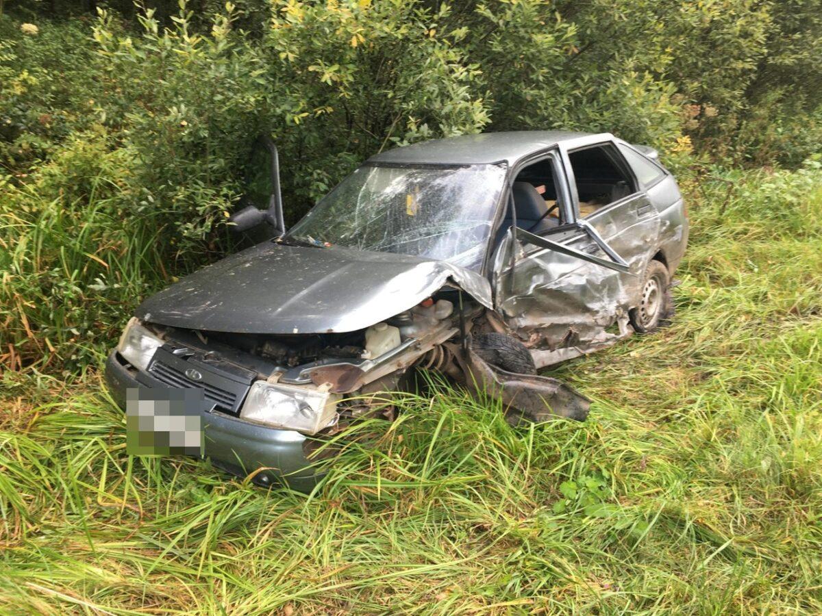 У пьяного мужчины, устроившего ДТП в Тверской области, не было водительских прав