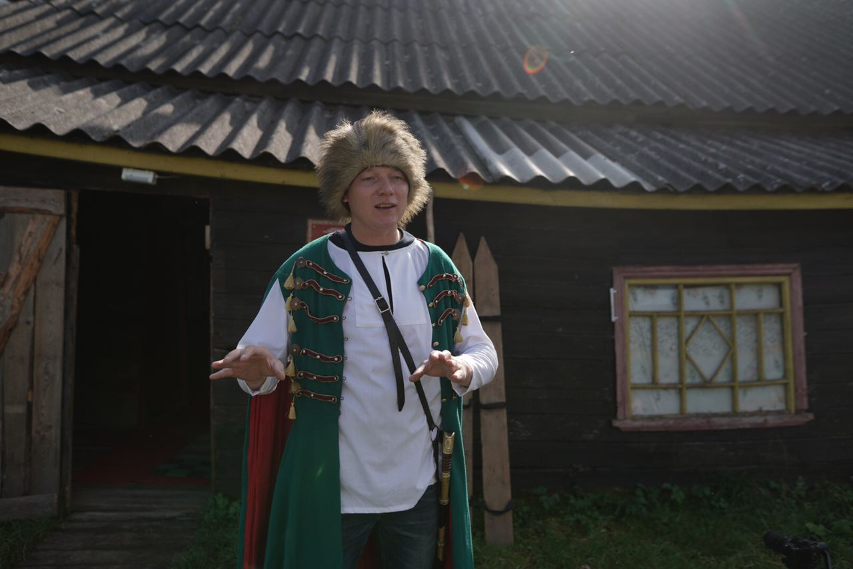 Экспедиция приехала в Кашинский район и сразу попала к «Жар-птице»