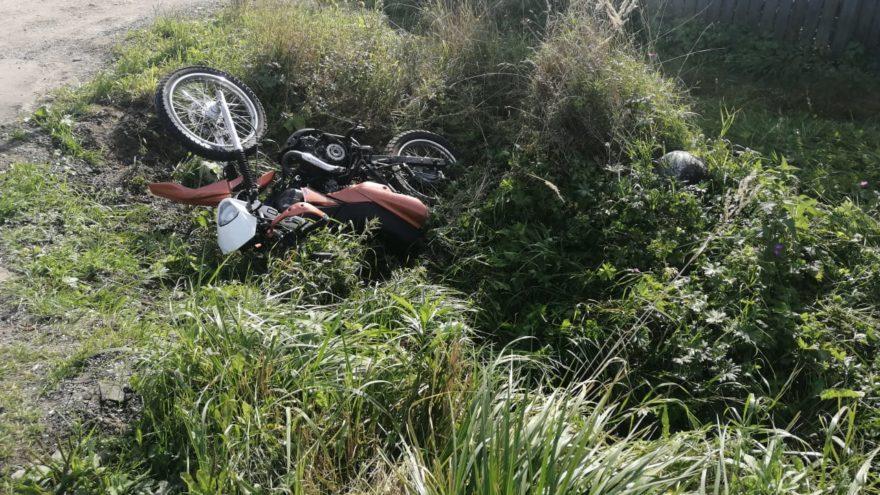 Мотоциклист на спортинвентаре врезался в ГАЗель в Тверской области
