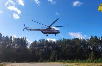 Ребёнка экстренно доставили в Тверь на вертолёте