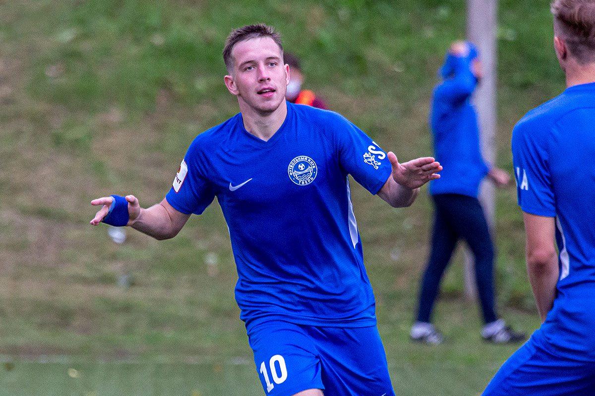 Полузащитник ФК «Тверь» Ярослав Ивакин стал лучшим игроком месяца