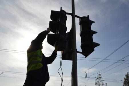 В Твери в створе Петербургского шоссе наконец-то установят транспортный светофор