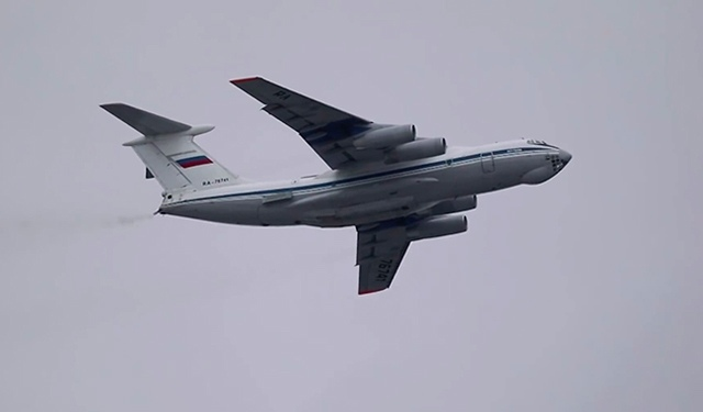 Экипажи Ил-76 метали бомбы и стреляли из пушек в Тверской области