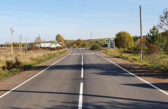 В Тверской области завершён ремонт автодороги Красномайский – Фирово