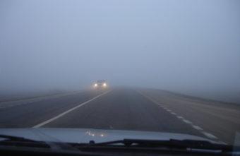 Туман опустился на Тверскую область
