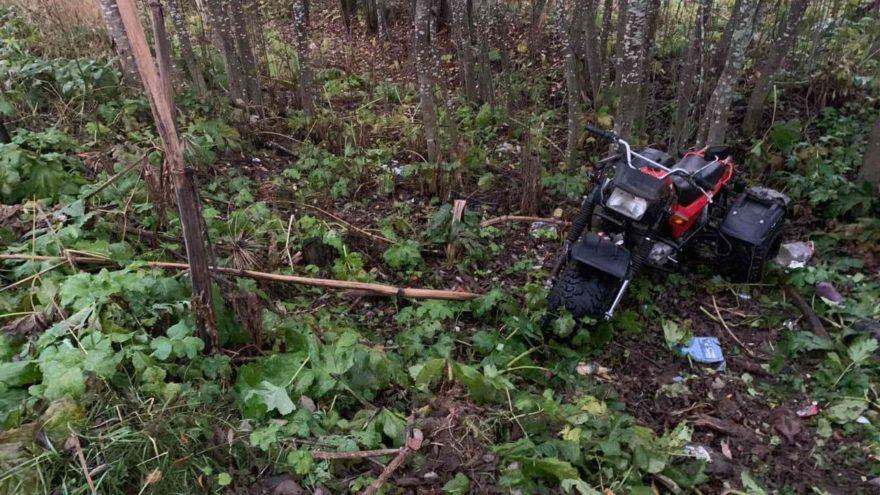 50-летний пьяный водитель опрокинулся на трицикле в Тверской области