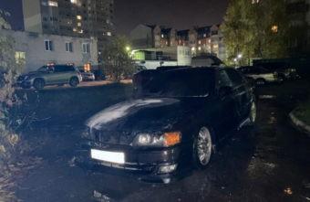 В Твери задержали подозреваемого в поджоге иномарки на Волоколамском проспекте