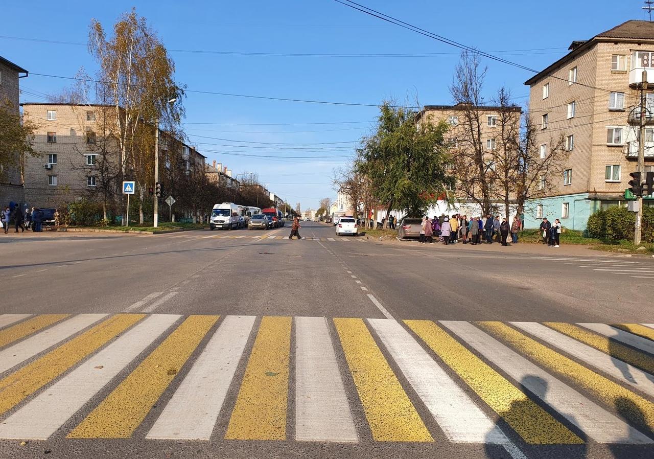 Сбитая на тротуаре пожилая женщина скончалась в больнице в Тверской области