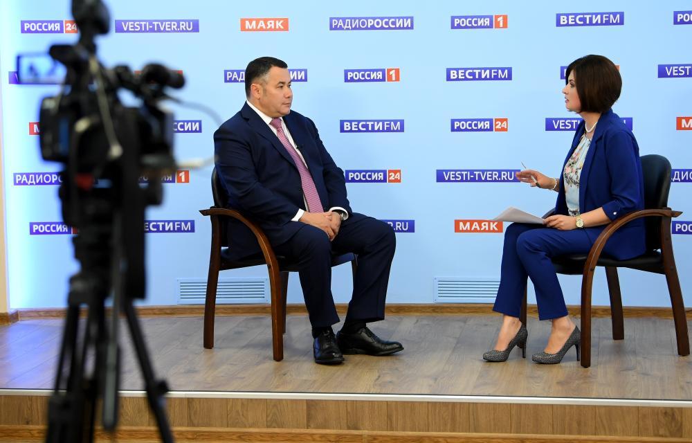 Игорь Руденя в прямом эфире рассказал, какие ограничения могут ввести из-за коронавируса