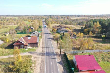Завершился ремонт участка трассы от Твери до Кимр