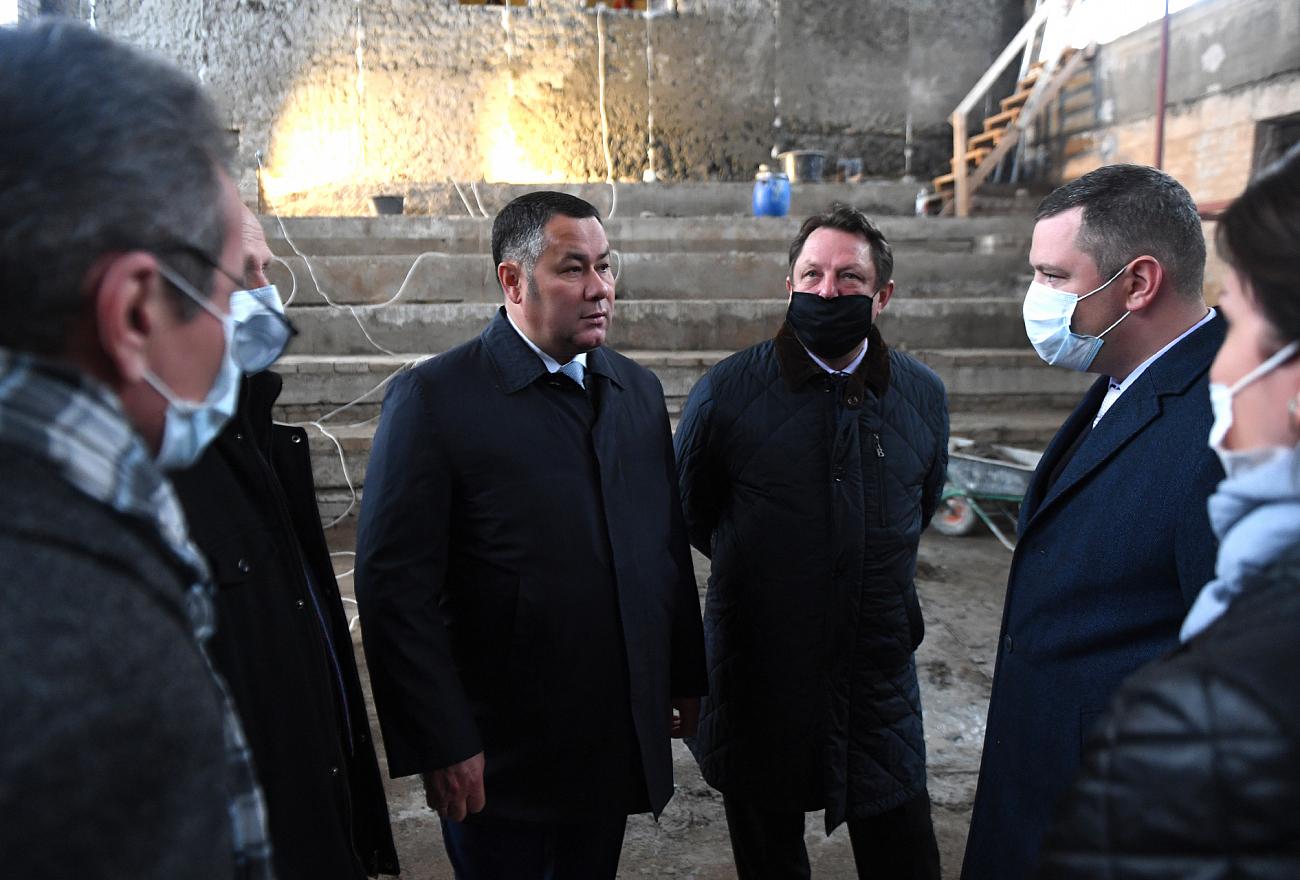 Губернатор Игорь Руденя проведет целый день в Сонковском районе