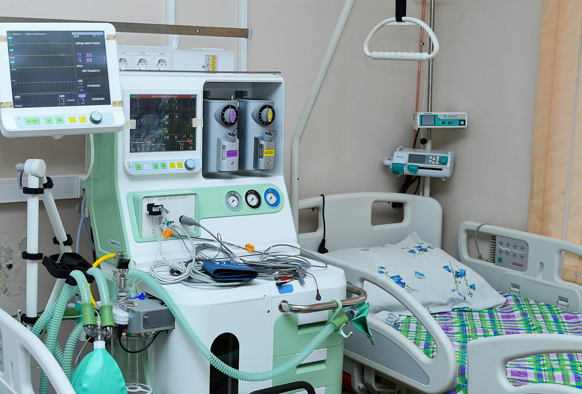Больше 1000 коек развёрнуто для лечения пациентов с коронавирусом в Тверской области