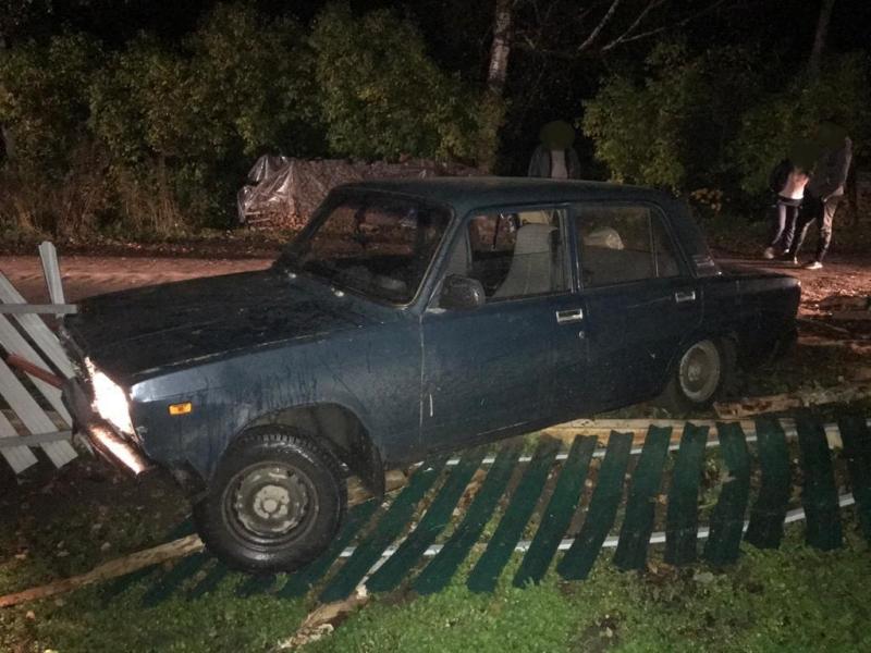 Пьяный мужчина угнал в Тверской области машину, чтобы покататься